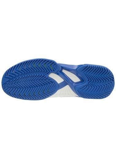 Mizuno Wave Exceed Tour 4 AC Unisex Tenis Ayakkabısı Beyaz / Mavi Beyaz